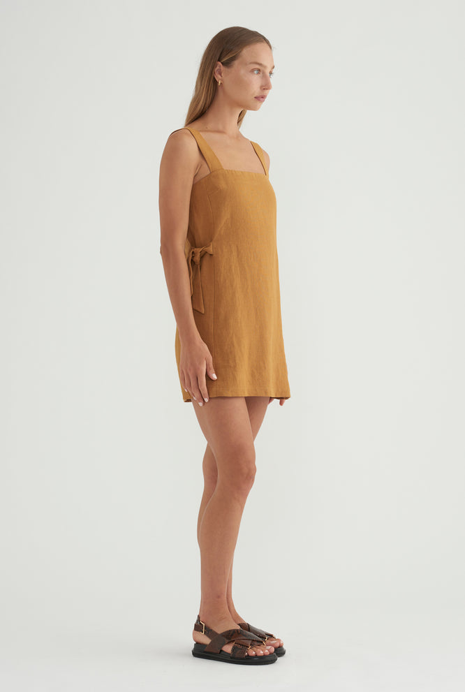 Side Knot Mini - Ochre