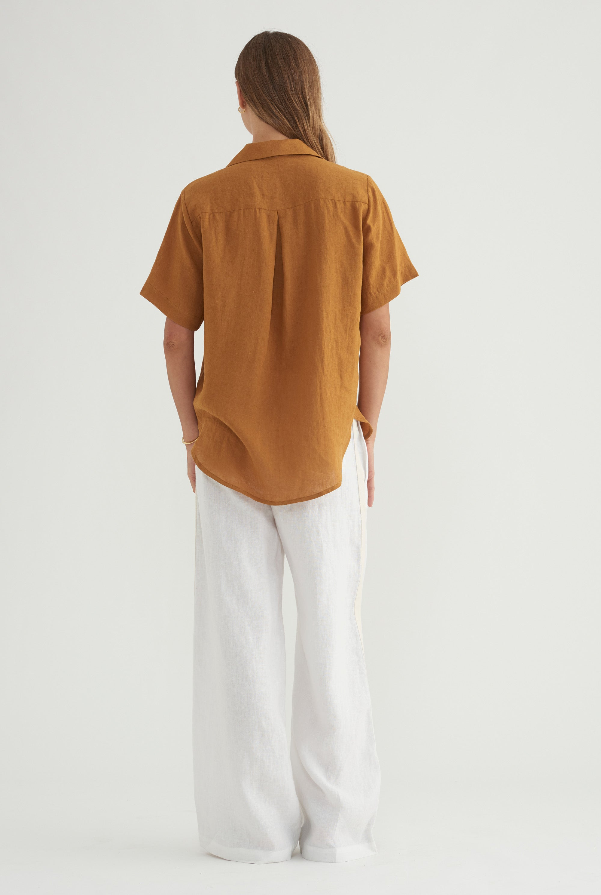 D-Ring Camp Collar - Ochre