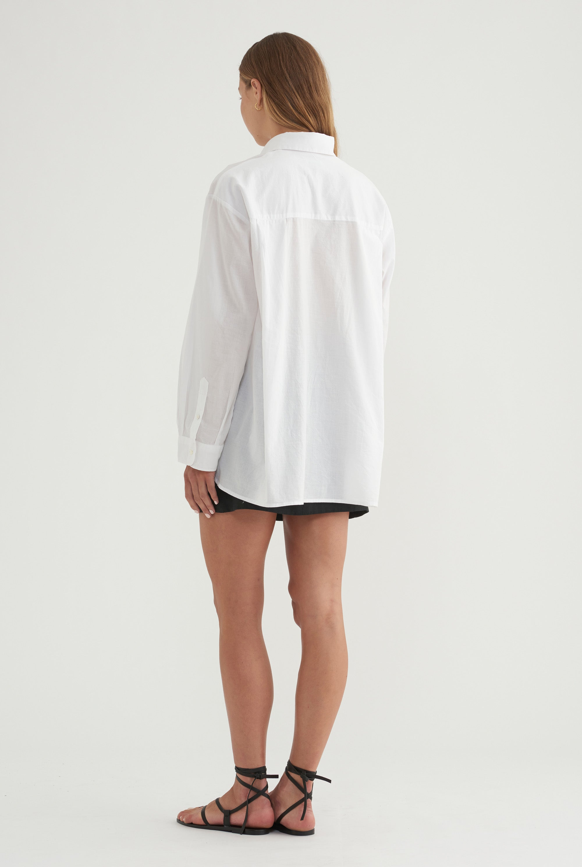Oversized Shirt - White