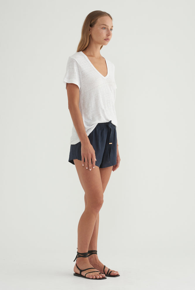 Womens Lounge Short - Navy