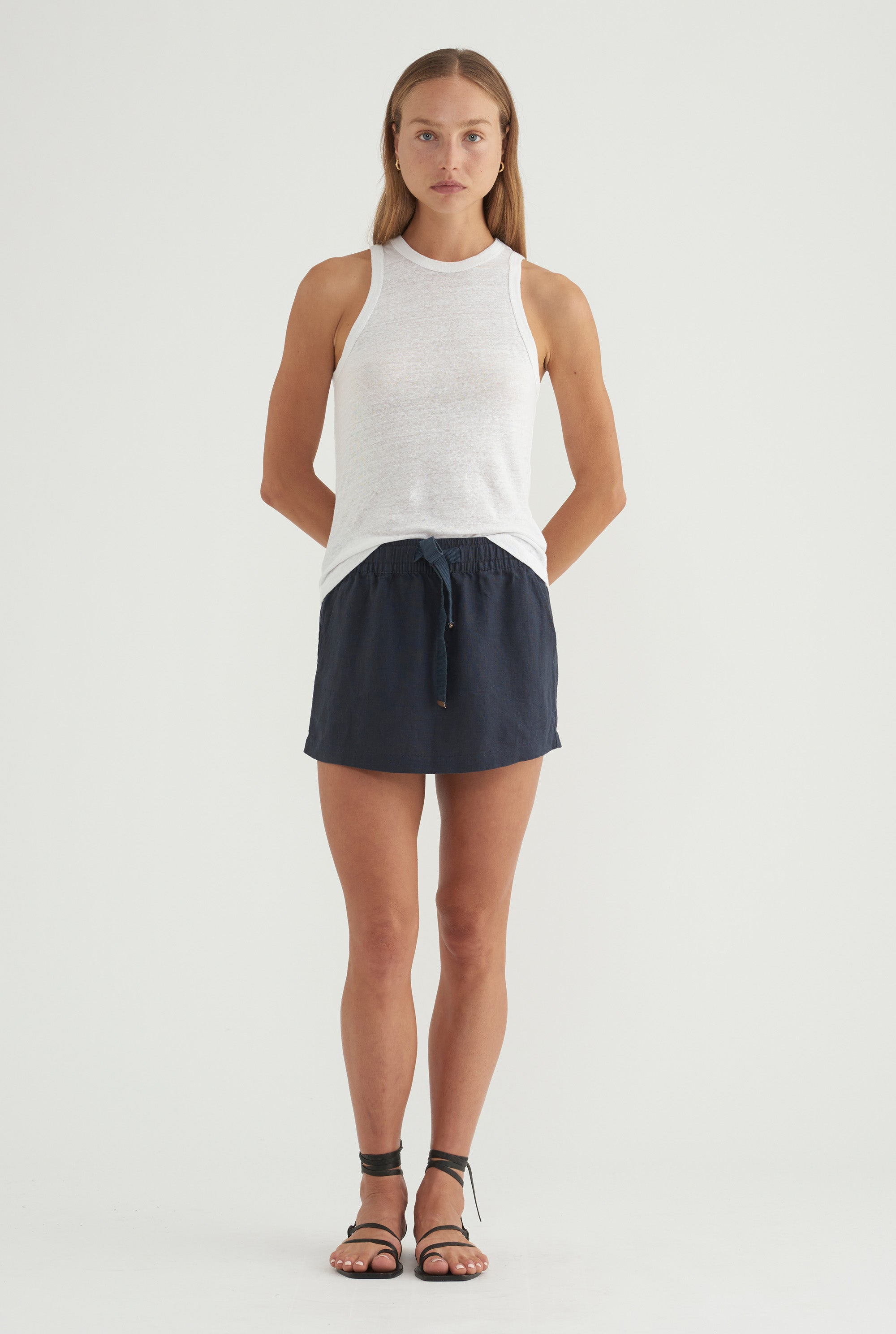 Lounge Skirt - Navy