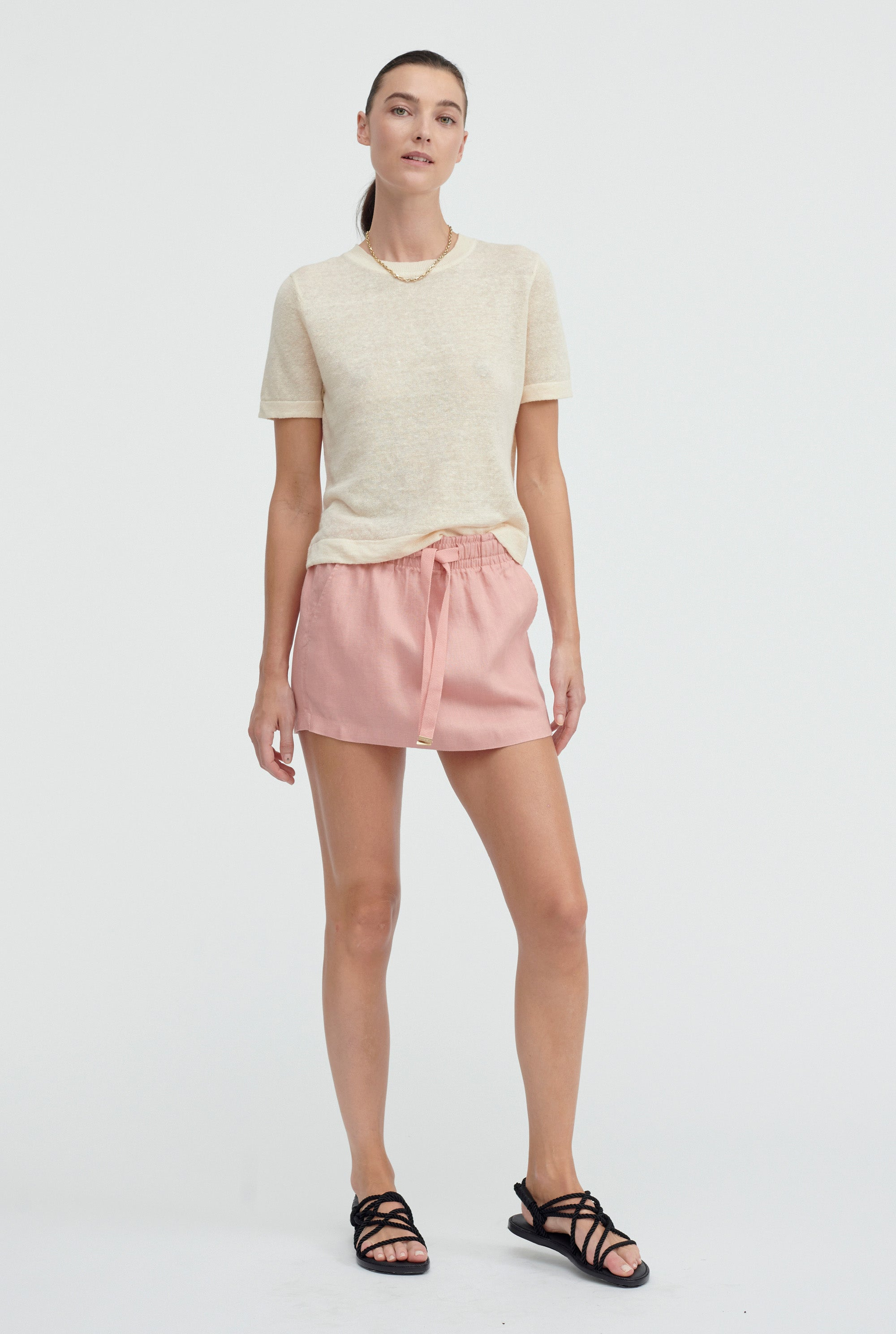 Lounge Skirt - Melon