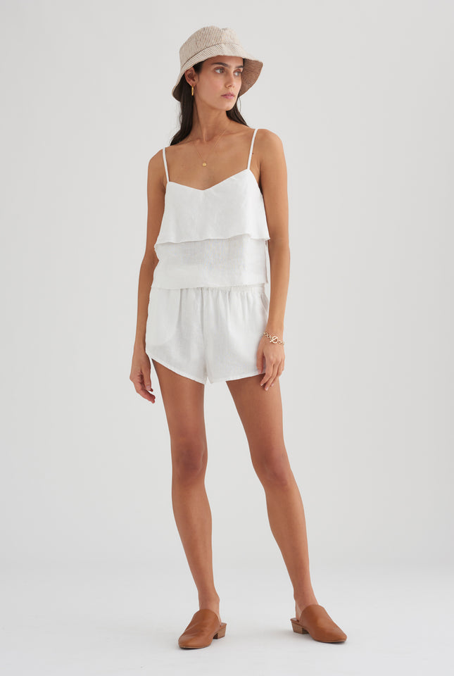 Floating Cami - White