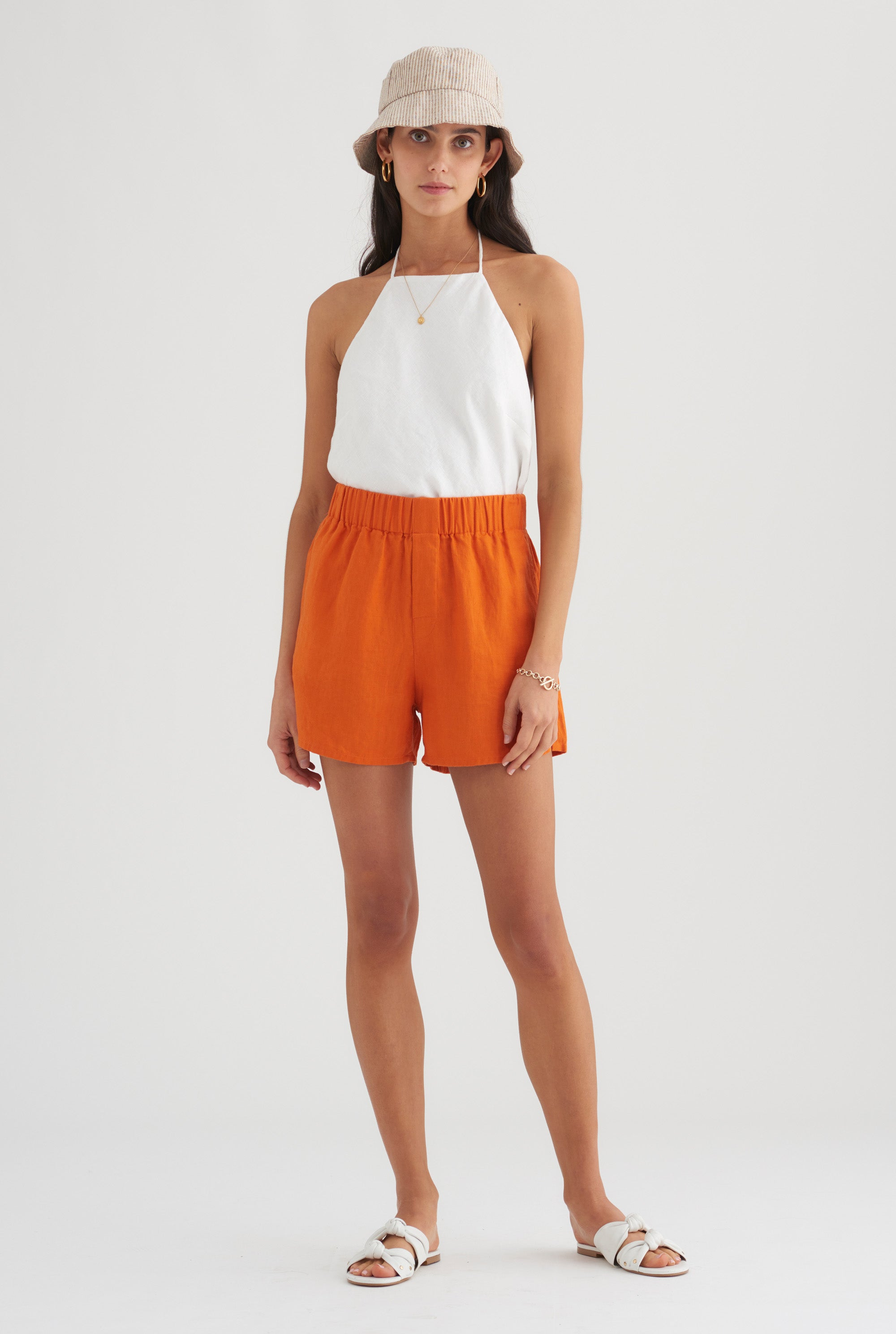 Boxer Short - Burnt Orange
