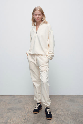 Womens Track Pant - Off White