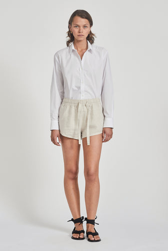 Womens Lounge Short - Sand