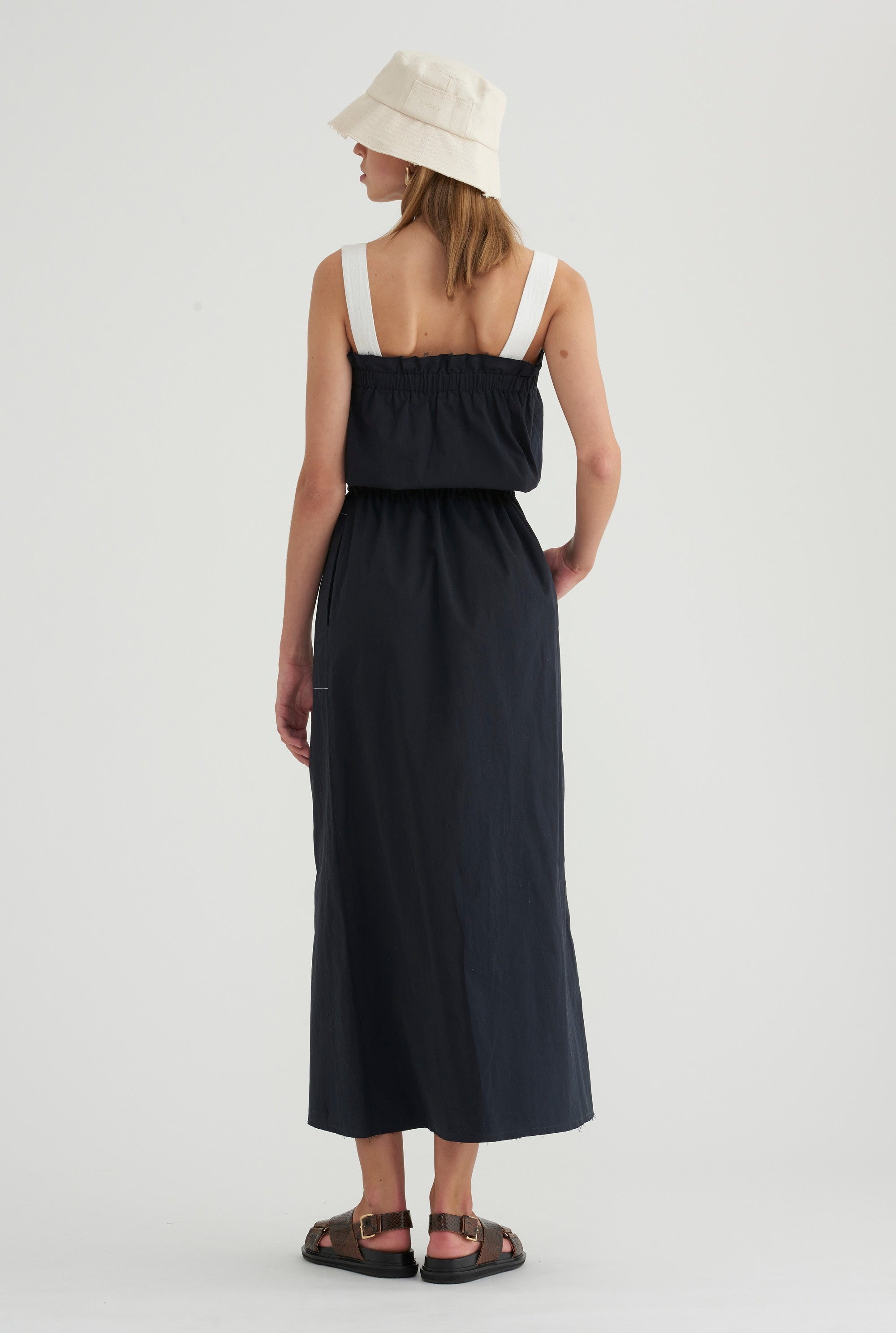 Side Pocket Maxi - Navy