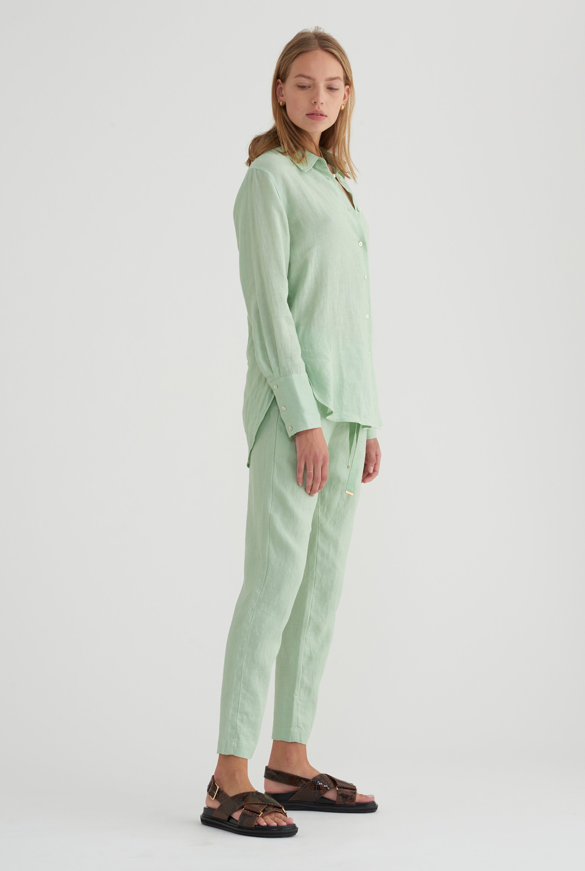 Womens Lounge Pant - Mint