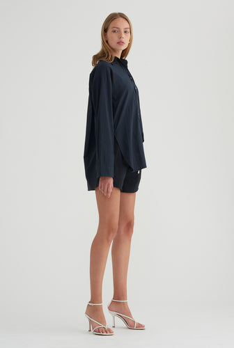 Oversized Shirt - Navy