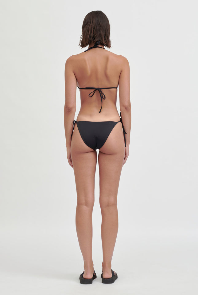 Matte String Bottom - Black
