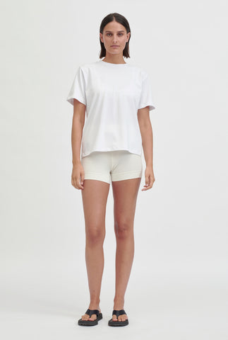 Oversized Cotton T-Shirt - White