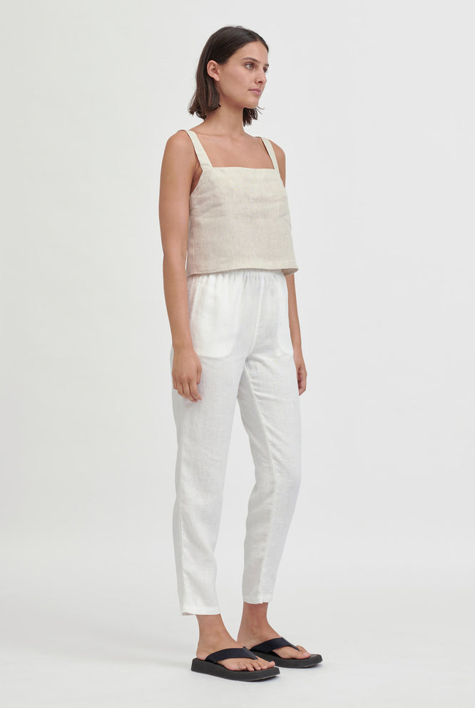 Boxy Cami Top - Sand