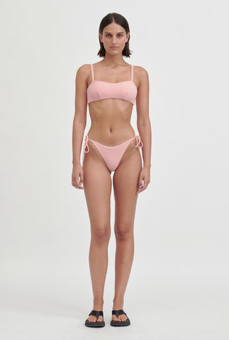 Terry String Bottom - Pink