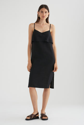 Floating Cami Dress - Black