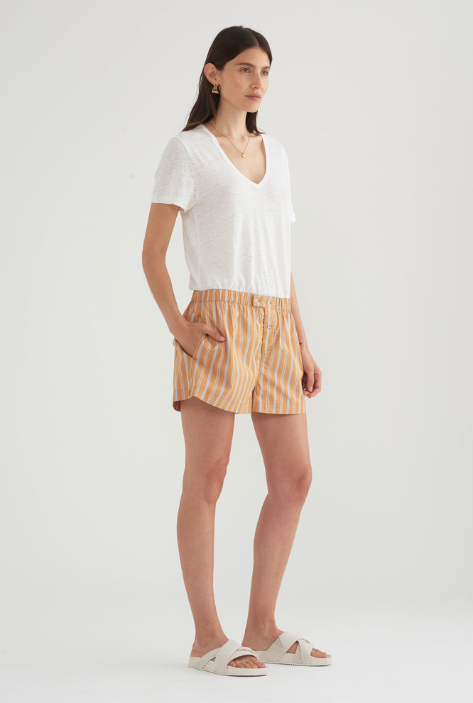 Poplin Boxer Short - Multi Stripe