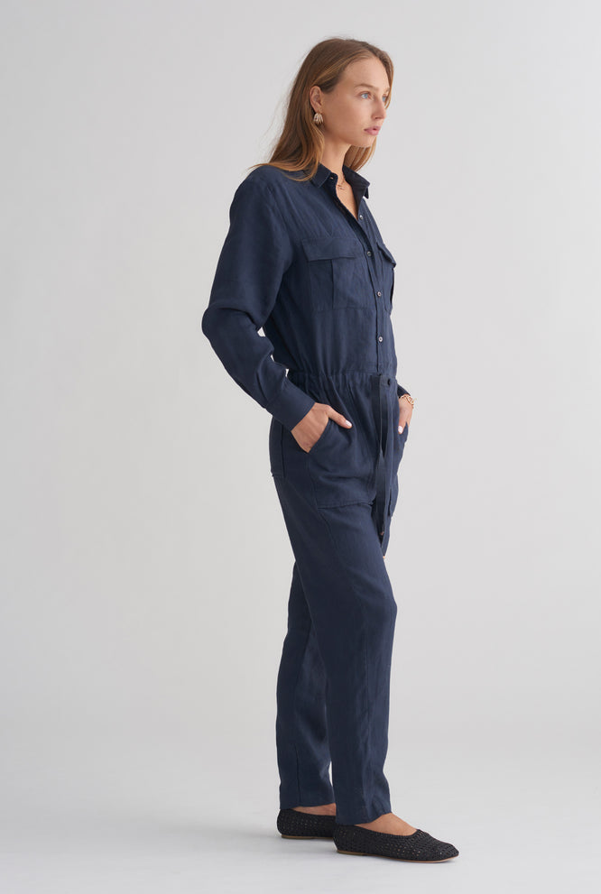 Patch Pocket Boiler - Navy