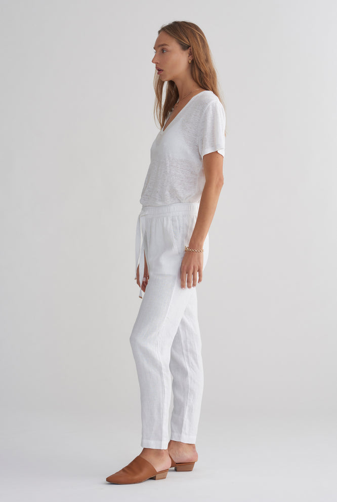 Womens Lounge Pant - White