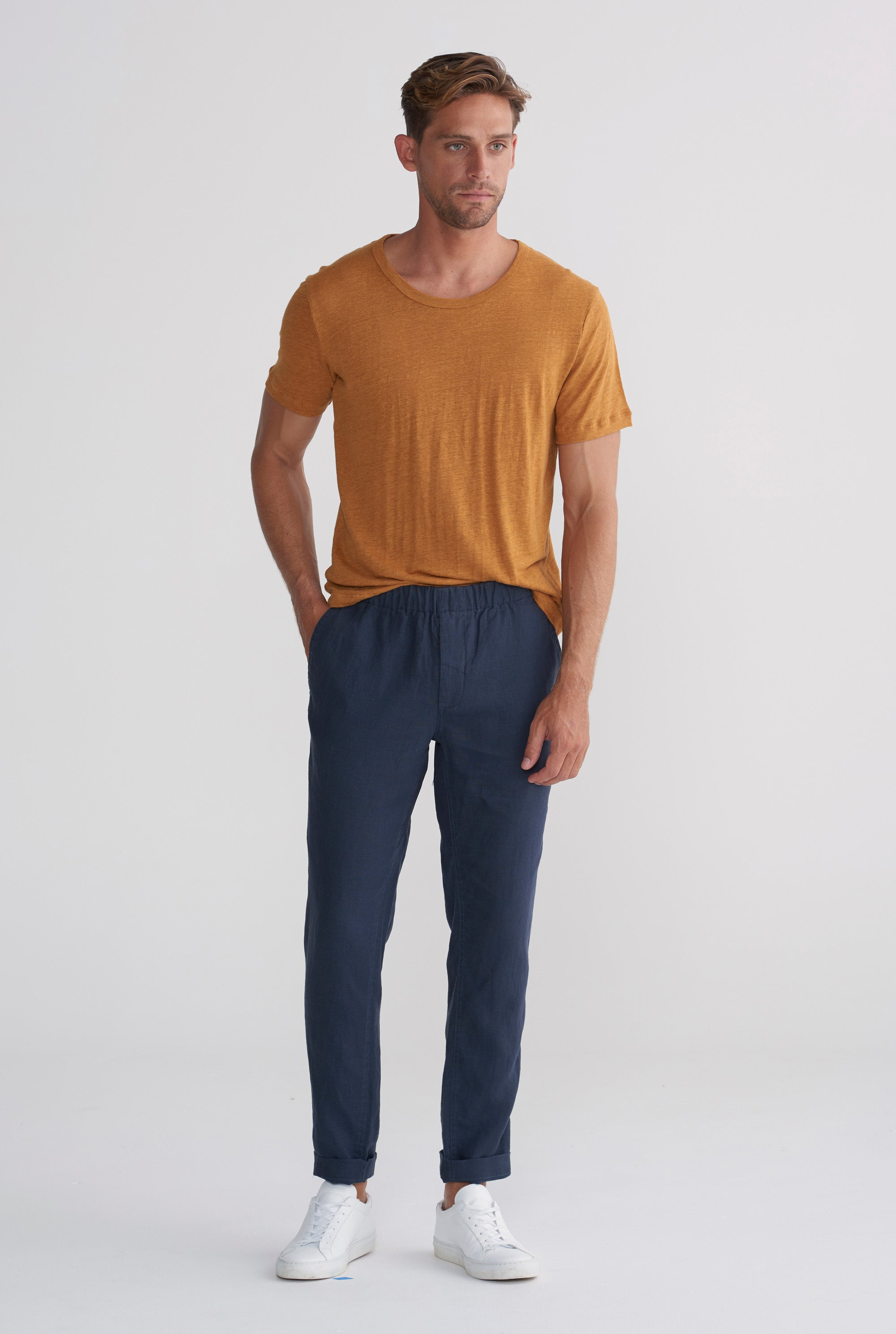 Original Tencel Lounge Chino - Navy