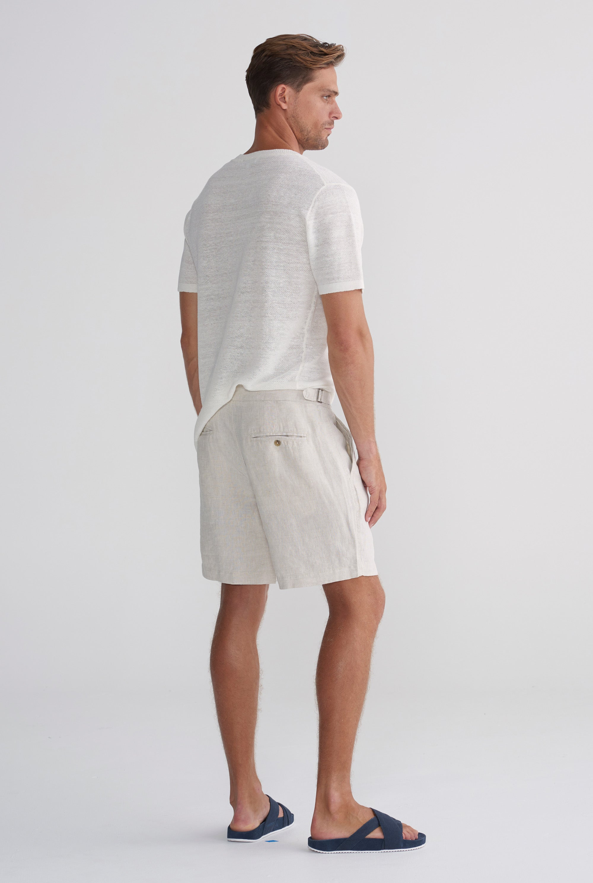 Side Tab Short - Sand