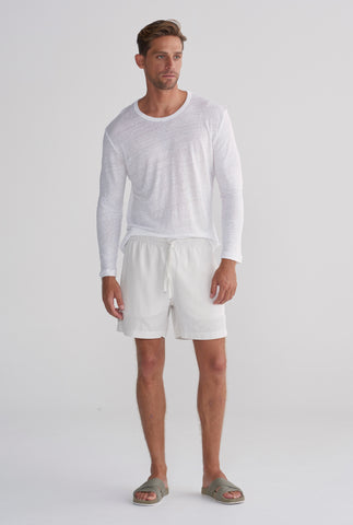 Tencel Lounge Short - Stone