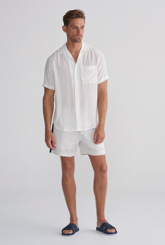 Silk SS Shirt - Shell