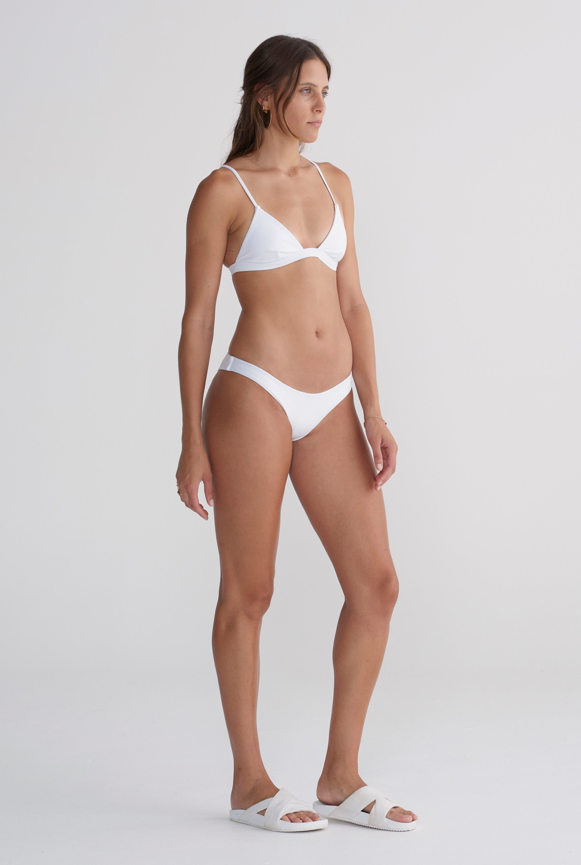 Bandeau Bottom - White