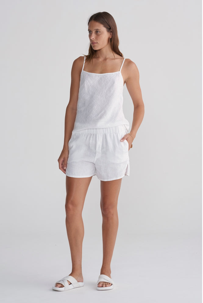 Boxer Short - White