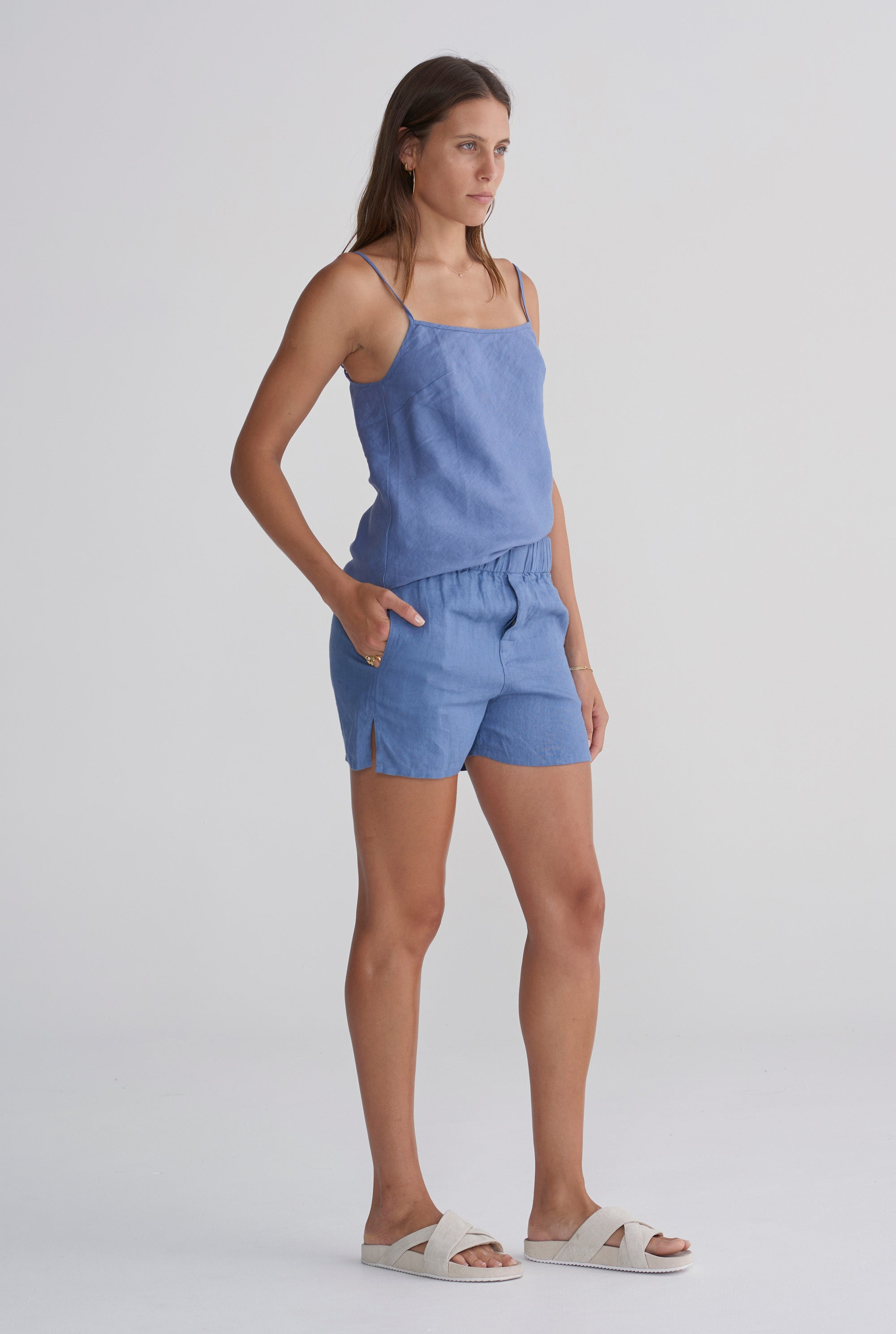 Boxer Short - Marine Blue