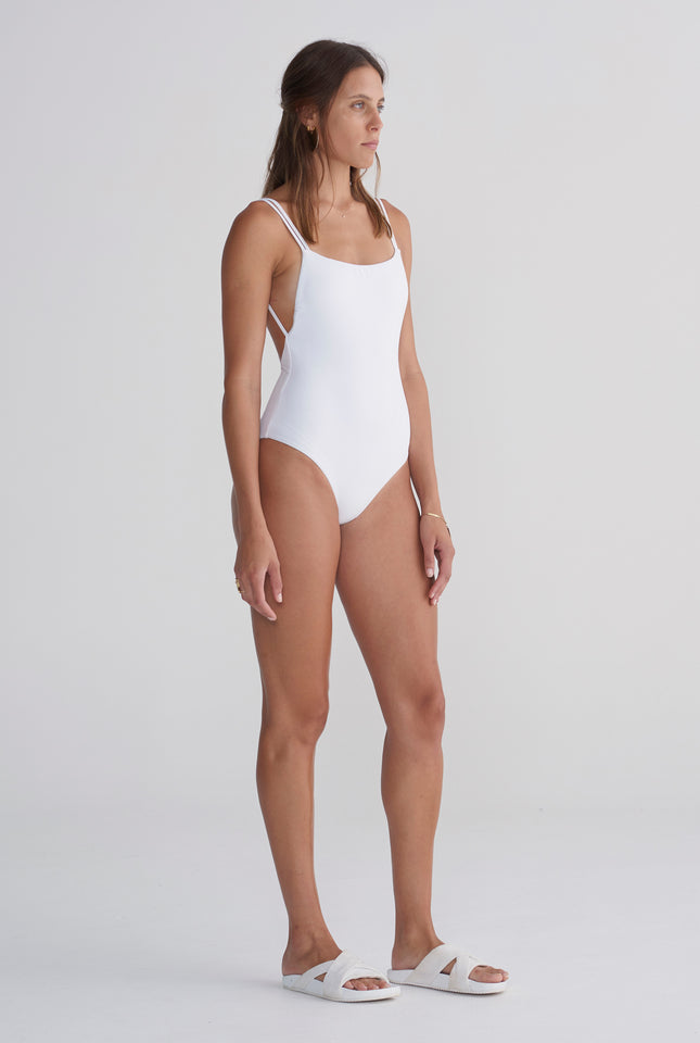 Womens One Piece - White