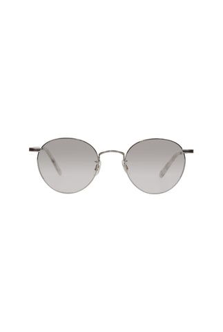 Garrett Leight Wilson 49 - M Moonrock Semi Flat Grey Shadow Gradient