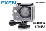 Original Eken H9 / H9R Ultra 1080p HD 4K Action Camera with WIFI