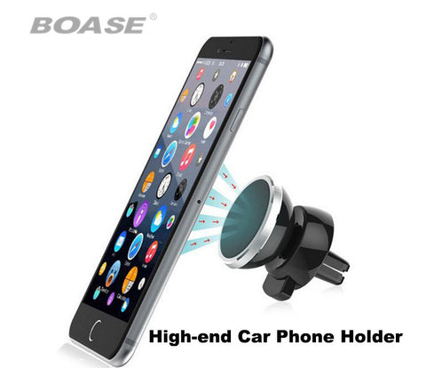 Smartphone Magnetic In-Car Clip on Phone Holder with Rotatable Mount
