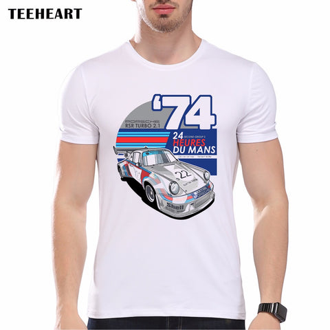 Men's Cool Car Design Short Sleeve T Shirt 14 Designs to Choose From