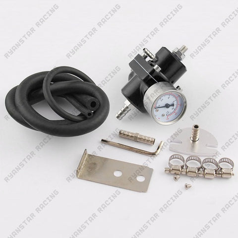 Adjustable Fuel Pressure Regulator with Fuel Pressure Gauge