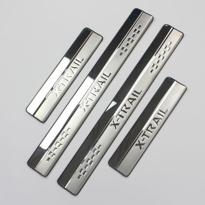 Nissan X-Trail Stainless Door Sill Protector