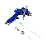 Anodized Blue Gravity Feed Airbrush Mini Spray Gun 120ml Pot