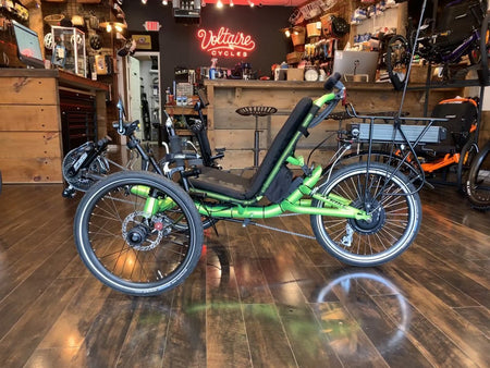 $380.00 Complete Trike Assembly, Freight Door-to-Door Delivery on wood pallet-Shipping Fees-Voltaire Cycles Verona-Voltaire Cycles of Verona