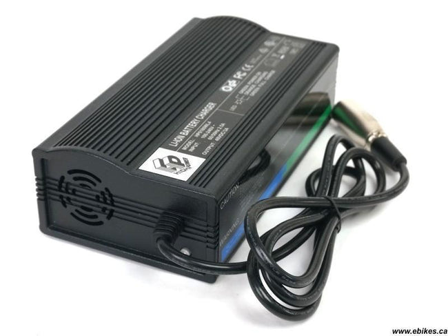 48V 3A Li-ion Charger Aluminum Casing Fan Cooled-Battery Chargers-ST-Voltaire Cycles of Verona