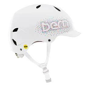 Bern Bandito Mips Helmet Gloss White Confetti Sm 515 - 545cm-Helmets and Accessories-Bern-Voltaire Cycles of Verona