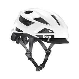 Bern Fl-1 Pavé Helmet Gloss White M 555 - 59cm-Helmets and Accessories-Bern-Voltaire Cycles of Verona