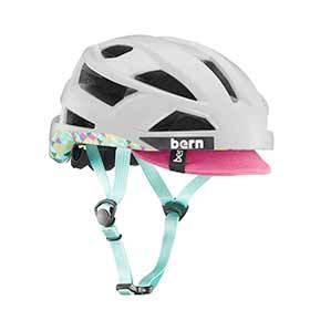 Bern Fl-1 Pavé Helmet Satin Light Grey M 52 - 555cm-Helmets and Accessories-Bern-Voltaire Cycles of Verona