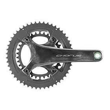Campagnolo Chorus Crankset Speed: 12 Spindle: 25mm Bcd: 96/123 32/48 Ultratorque 175mm Black Road Disc-Cranksets-Campagnolo-Voltaire Cycles of Verona