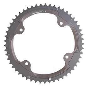 Campagnolo Fc-Sr352 Chainring Teeth: 52 Speed: 11 Bcd: 145 Bolts: 4 Outer Aluminum Grey-Chainrings-Campagnolo-Voltaire Cycles of Verona