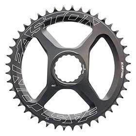 Easton Direct Mount Narrow/Wide 44t Chainring 10/11sp Bcd: Direct Mount Aluminium Black-Chainrings-Easton Cycling-Voltaire Cycles of Verona