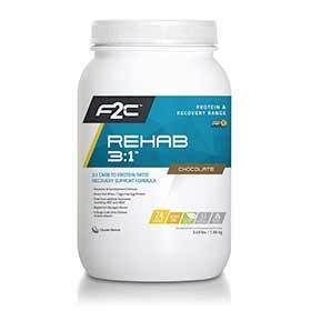 F2c Nutrition Rehab 3:1 Drink Mix Chocolate 24 Servings-Nutrition-F2C Nutrition-Voltaire Cycles of Verona