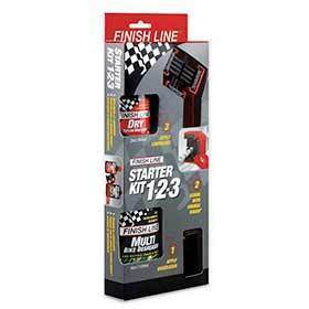 Finish Line Starter Kit 1-2-3-Lubes and Cleaners-Finish Line-Voltaire Cycles of Verona