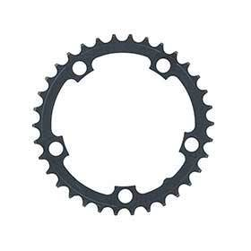 Fsa Pro Road 30t/74mm Triple N-10 Black Steel-Chainrings-FSA-Voltaire Cycles of Verona