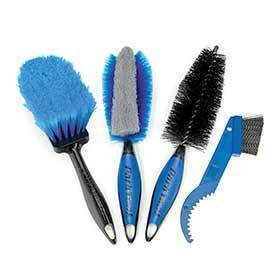 Park Tool Bcb-42 Bike Cleaning Brush Set-Lubes and Cleaners-Park Tool-Voltaire Cycles of Verona