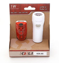 Q-Lite Combo Tube - Head / Tail Light for Bicycle or Recumbent Trike-Bicycle Lights-Q-Lite-Voltaire Cycles of Verona