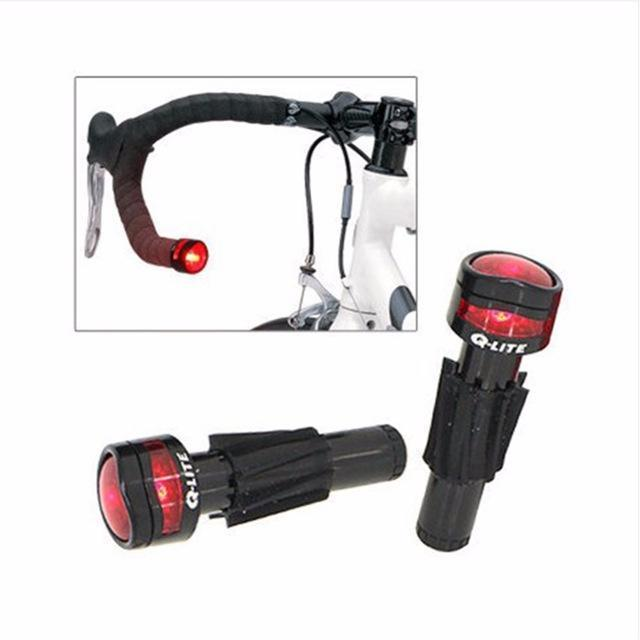 Q-Lite ROAD Bar End Light-Bicycle Lights-Q-Lite-Voltaire Cycles of Verona